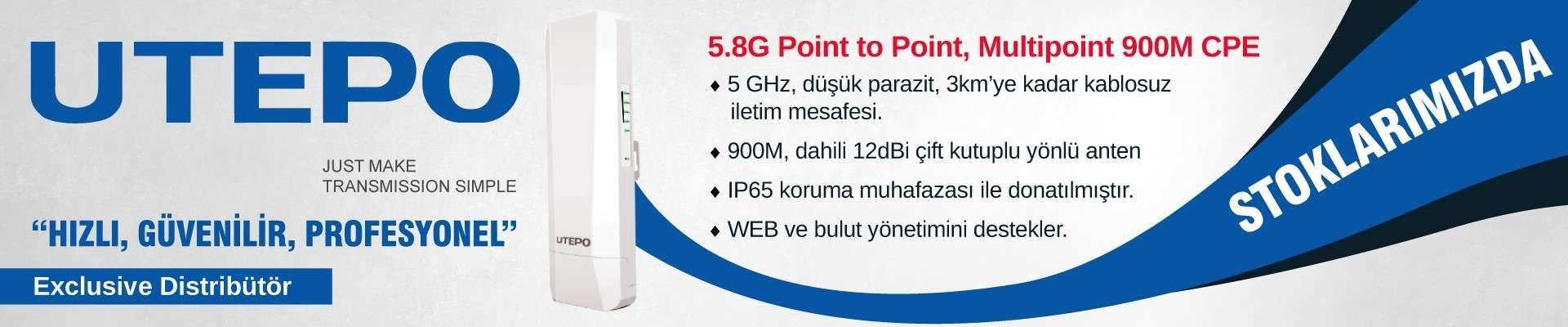 UTEPO CP5-900 SERİSİ ARTIK ASR TEKNOLOJİ STOKLARINDA...
