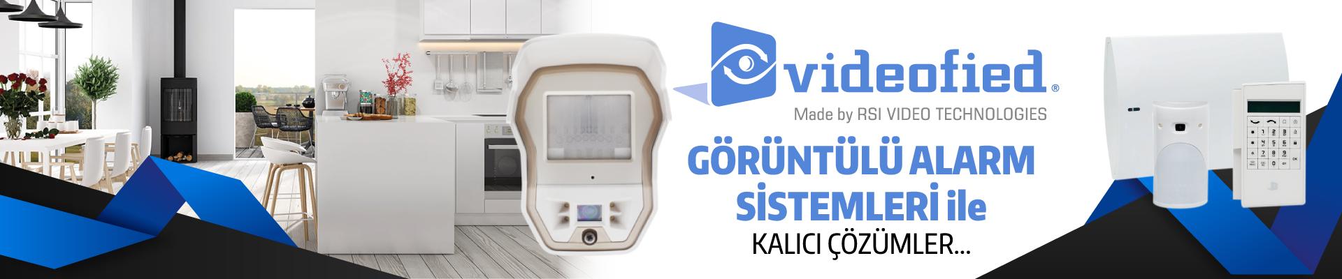 Görüntülü Alarm Sistemleri ile Kalıcı Çözümler !