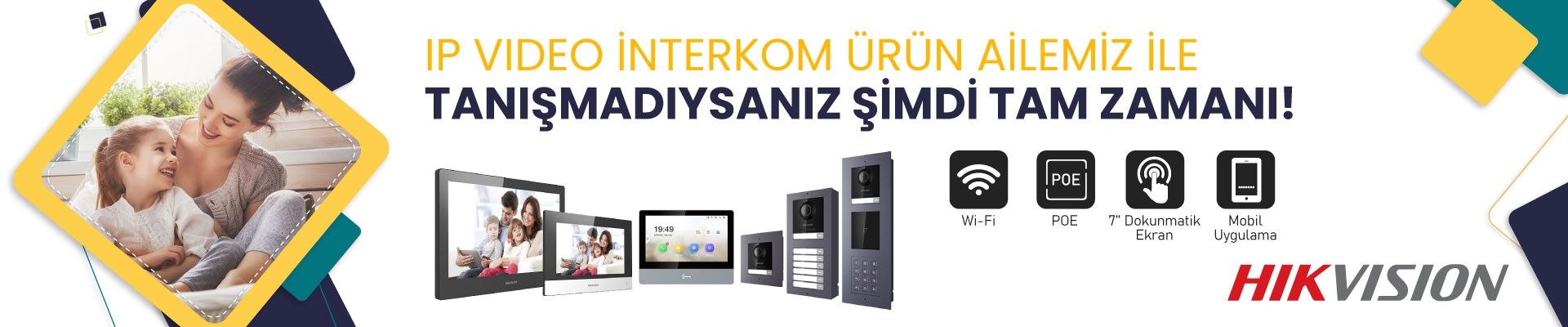 Hikvision Yeni Nesil Modüler Ip Video İnterkom Sistemi