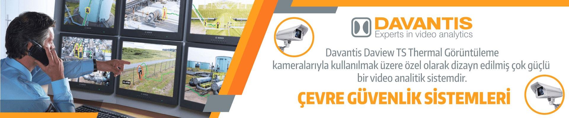 Davantis Çevre Güvenlik Sistemleri !