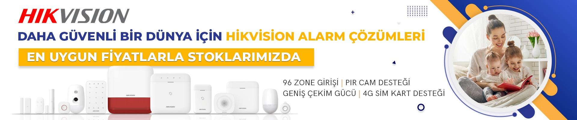 Hikvision Yeni Nesil Kablosuz Hırsız Alarm Sistemleri Ax Pro Stoklarımızda!..