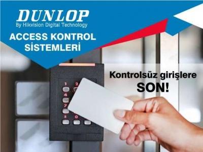 Dunlop ile Access Kontrol Sistemlerinde Yenilikçi Çözümler !..