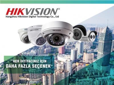 Hikvision ile Geniş Ürün Yelpazesi Sizinle !..