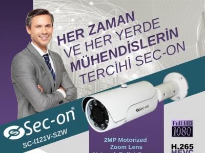 Sec-on  SC-I121V SZW, ASR Teknoloji Stoklarında !..