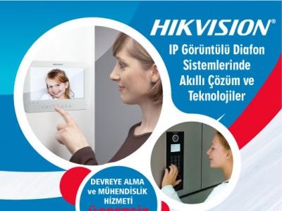 Hikvision Görüntülü Diafon Sistemleri İle Size Özel Hizmetler!..