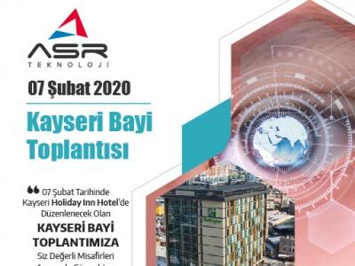 07 Şubat Kayseri Bayi Toplantımıza Davetlisiniz !..