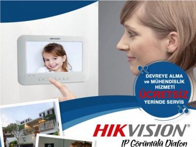 Hikvision ile Görüntülü Diafon Sistemlerinde Görülmemiş Hizmet!..