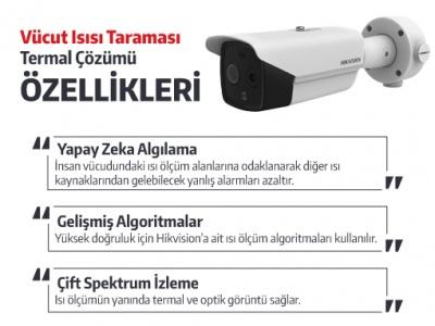 Hikvision Termal Kamera İle Coronavirüs Çözümü !..