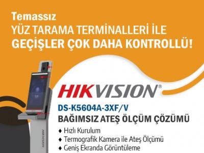 Hikvision Bağımsız Ateş Tarama Çözümü !..