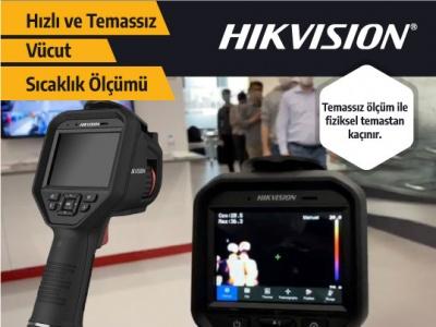 Hikvision El Tipi Vücut Isısı Ölçer Termal Kamera Stoklarımızda!..