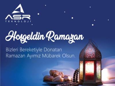 Hoşgeldin Ramazan !..