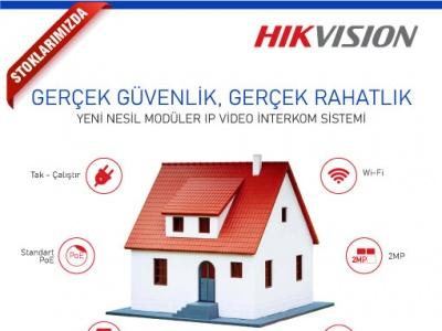 Hikvision ile Gerçek Güvenlik, Gerçek Rahatlık !..