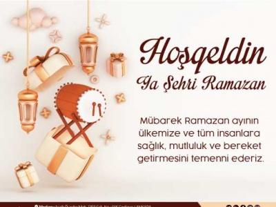Hoşgeldin Ya Şehri Ramazan!..