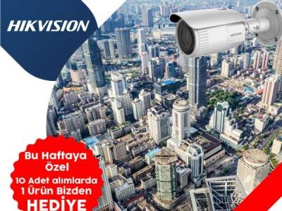 Hikvision (DS-2CD1623G1-IZS) 2MP Network Bullet Kamera Stoklarımızda!..