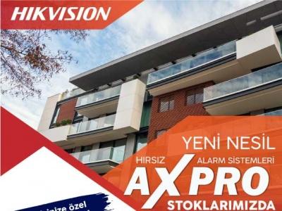 Hikvision AX PRO Serisi Stoklarımızda !..