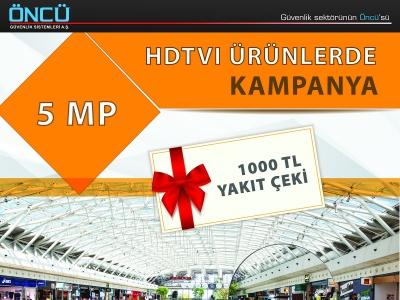 5 MP HDTVI Kameralarda Kampanya !