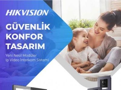 Hikvision Video İnterkom Sistemleri Akıllı Çözümler Sunar!..