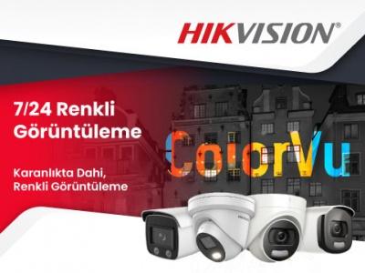 7/24 Renkli Görüntüleme Sağlayan Hikvision ColorVu Lite Kameramızı Denediniz mi?