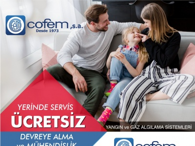 COFEM YANGIN ve GAZ ALGILAMA SİSTEMLERİ !