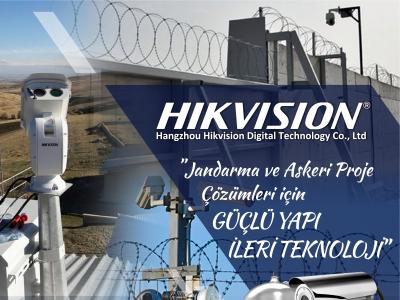 HIKVISION İLE JANDARMA VE ASKERİ PROJELERİNİZE ÖZEL ÇÖZÜMLER !