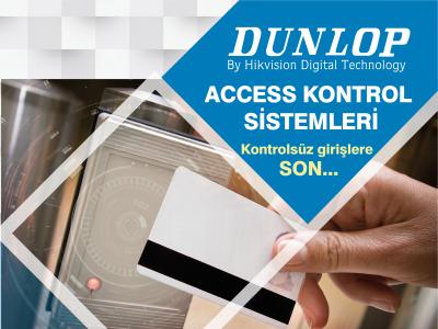 Dunlop Kartlı Geçiş Sistemlerinde Projenize Özel Çözümler !