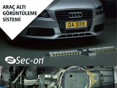 Sec-on Araç Altı Algılama Sistemleri ile Sizde Tanışın !..