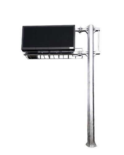 (SC-TAG-L) 6-8m Sıcak Daldırma Galvaniz Kaplı L Tipi Tag Direk