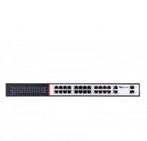 Sec-On 24 Port PoE Switch (SC-SG3024)