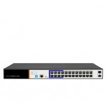 Sec-On 24 Port PoE Switch (SC-SGS3024)