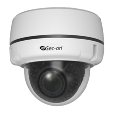 Sec-On 2.0MP Motorize Dome Kamera SC-I122V-SZW