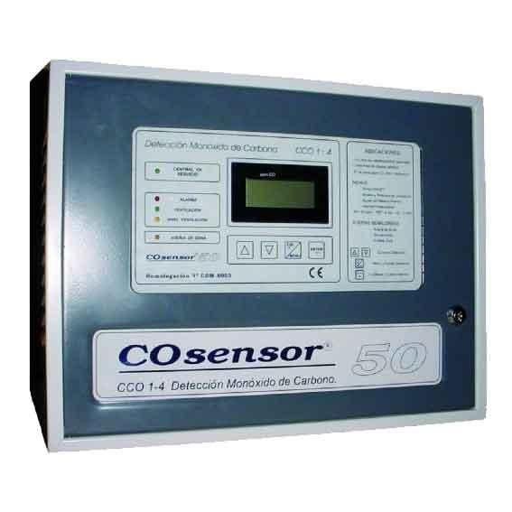 Konvansiyonel Karbonmonoksit Algılama Paneli-CCO115