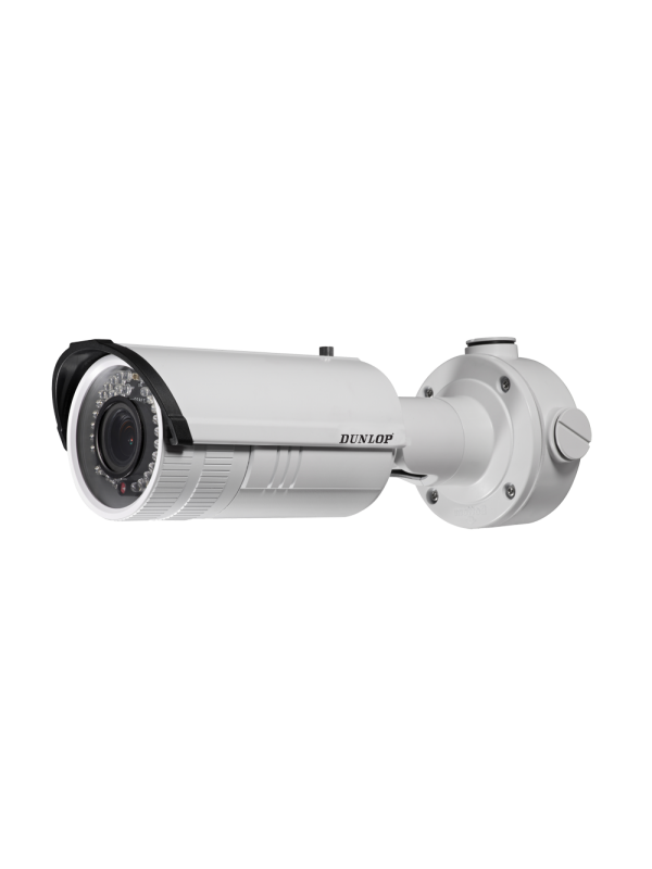 Dunlop 2MP Motorize Bullet IP Kamera 30 metre IR DS-2CD2620F-IZS