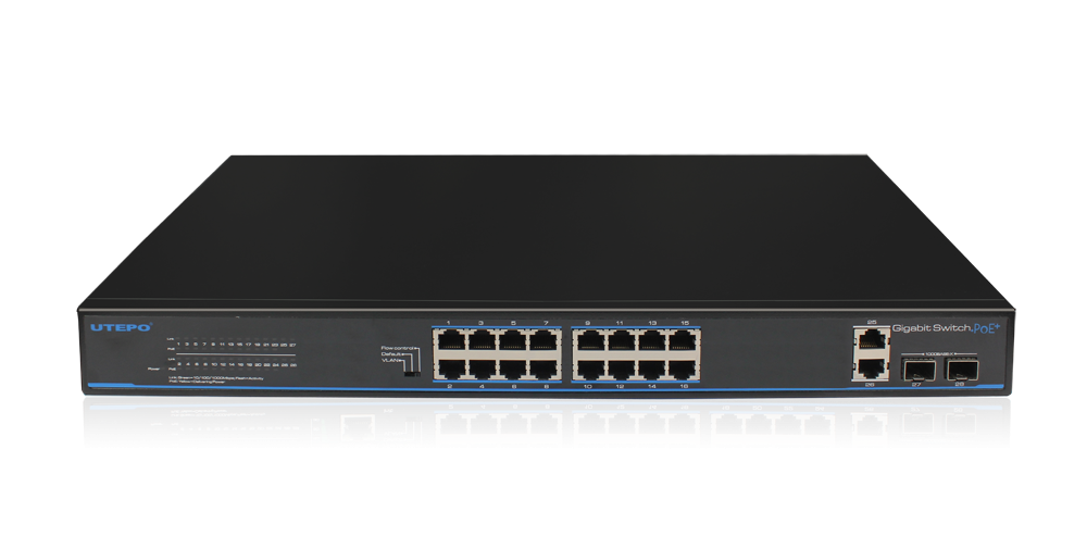 UTP3-GSW1604TS-P200-16 Ports Gigabit PoE Switch