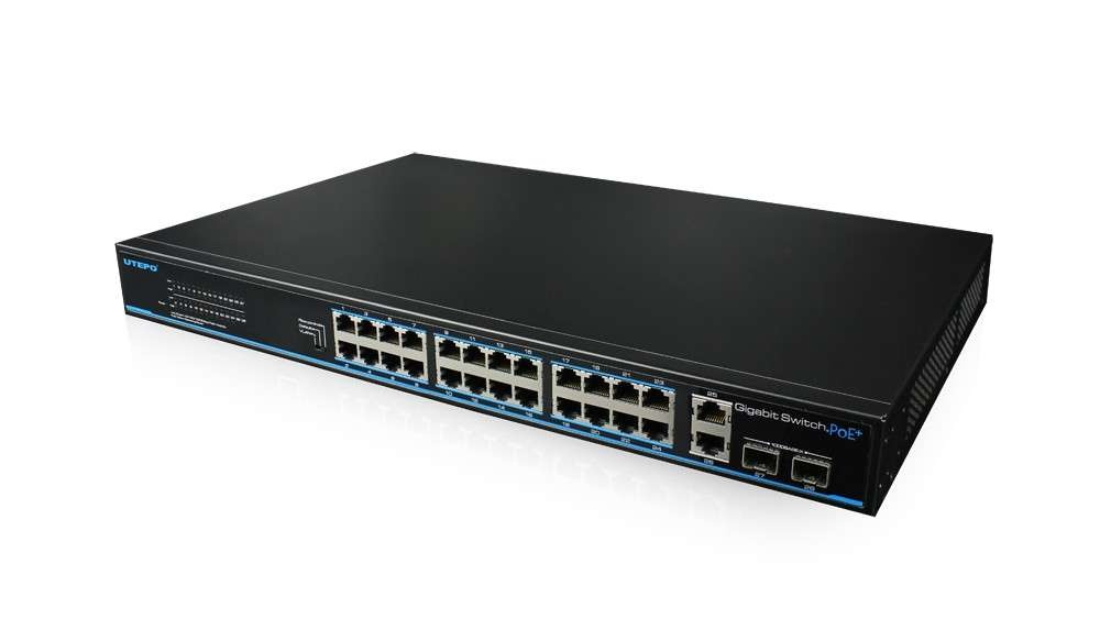 UTP3-GSW2404TS-P420-24 Ports Gigabit PoE Switch