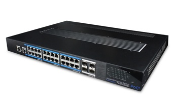 UTP7524GE-POE-P-24 ports gigabit PoE L2-managed Switch
