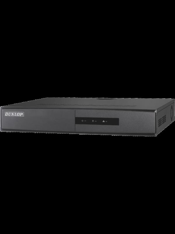 Dunlop 4 Kanal Mini NVR, 1 SATA Portu DP-2604NI-K1