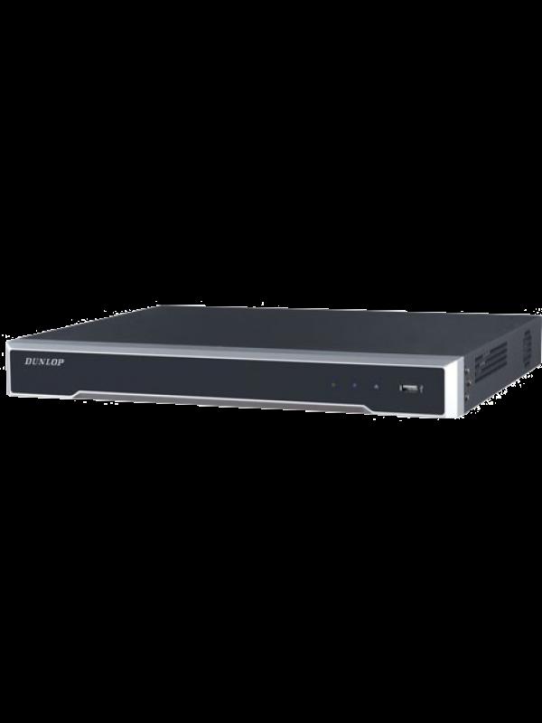 Dunlop 8 Kanal NVR, 2 SATA Portu DP-2608NI-K2/8P