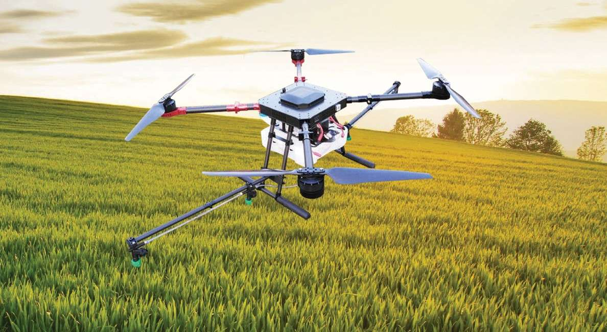 ilaçlama dronu