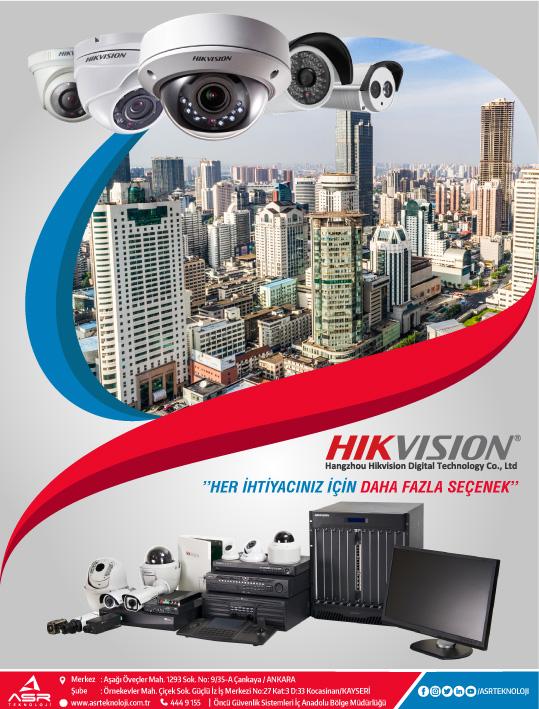 Hikvision ile Birçok Seçenek Elinizin Altında !..